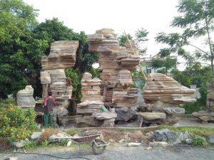 thác nước đá cổ thạch
