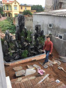 Non bộ đá đen Ninh Bình