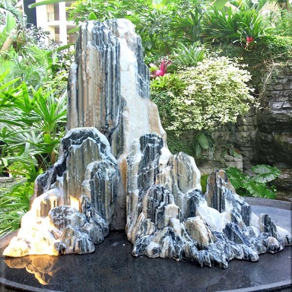 Đặc điểm của hòn non bộ bằng đá Tuyết Sơn